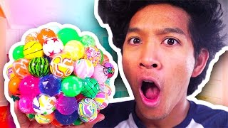 GIANT BOUNCEY BALL CLUSTER!!!