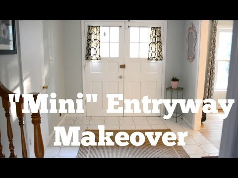 BEFORE & AFTER: Entryway Refresh Makeover with Hive Home - Thrift Diving