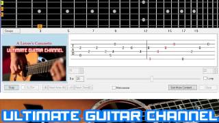 [Guitar Solo Tab] A Lover's Concerto (Sarah Vaughan)