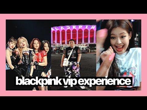 BLACKPINK LA CONCERT VLOG ☆ VIP Experience + Merch Haul + Tips