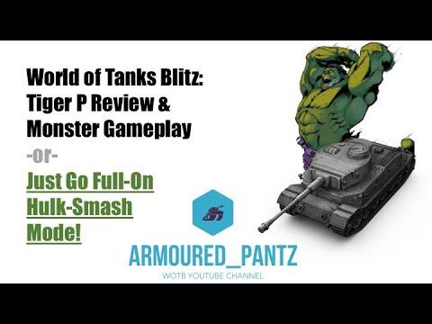 World of Tanks Blitz: Tiger P Review & Monster Mastery Game thumbnail