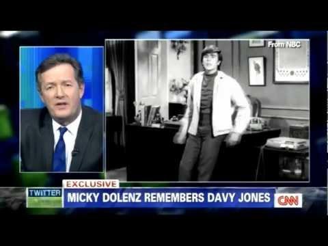 Piers Morgan: Micky Dolenz Remembers Davy Jones