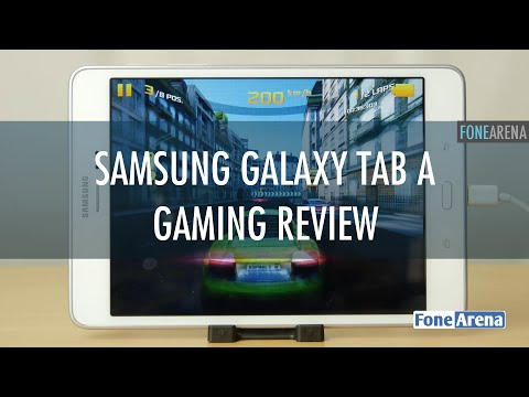 Samsung Galaxy Tab A Gaming Review