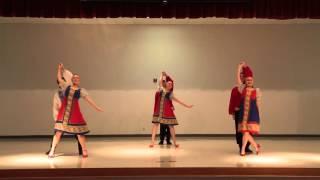 """Uzori Folk Dance Ensemble - """"Sneg Snezhok"""" Jan 24 2016"""