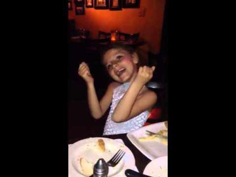 Niki after recital Greek dancing
