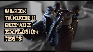 Valken Thunder Grenades ►Explosion test