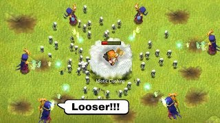 COC Funny Moments, Glitches, Fails, Trolls Compilation #35 | Clash of Clans Montage