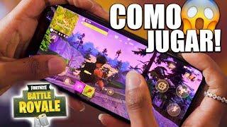 Video de COMO JUGAR A FORTNITE EN MOVIL