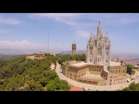 Tibidabo Barcelona From The Sky | GoPro Karma Drone