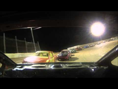 Moler Raceway King of Compacts Feature 8-21-15  Rear View