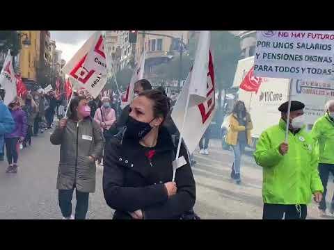 Los trabajadores de Ovejero protestan por la situación de la empresa