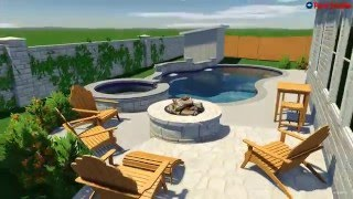 Denali Pools Central Texas New Pool Design J. Family