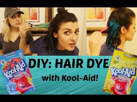 DIY Hair Dye with Kool-Aid!  | Savannah Mills