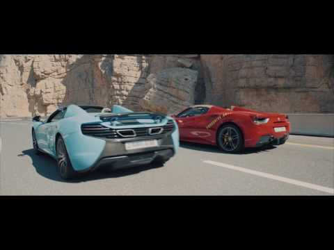 A Supercar Adventure in Ras Al Khaimah