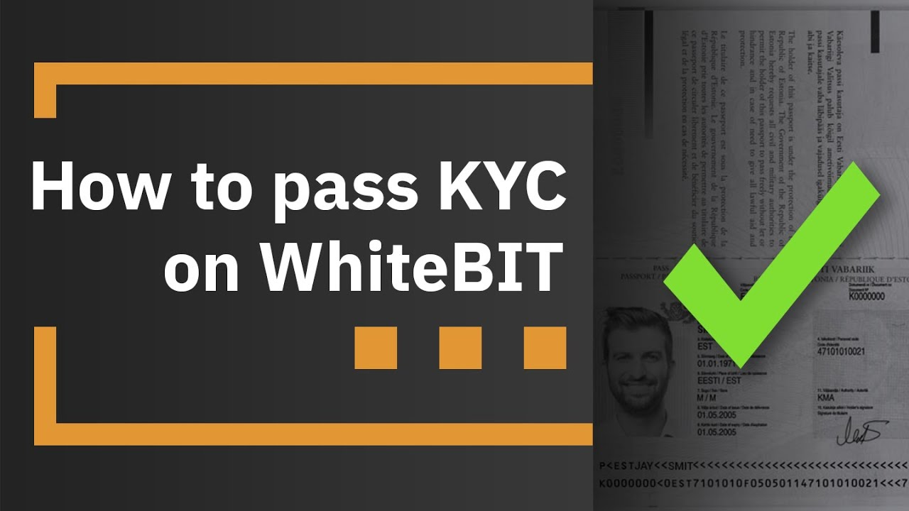 How to pass KYC on WhiteBIT - YouTube