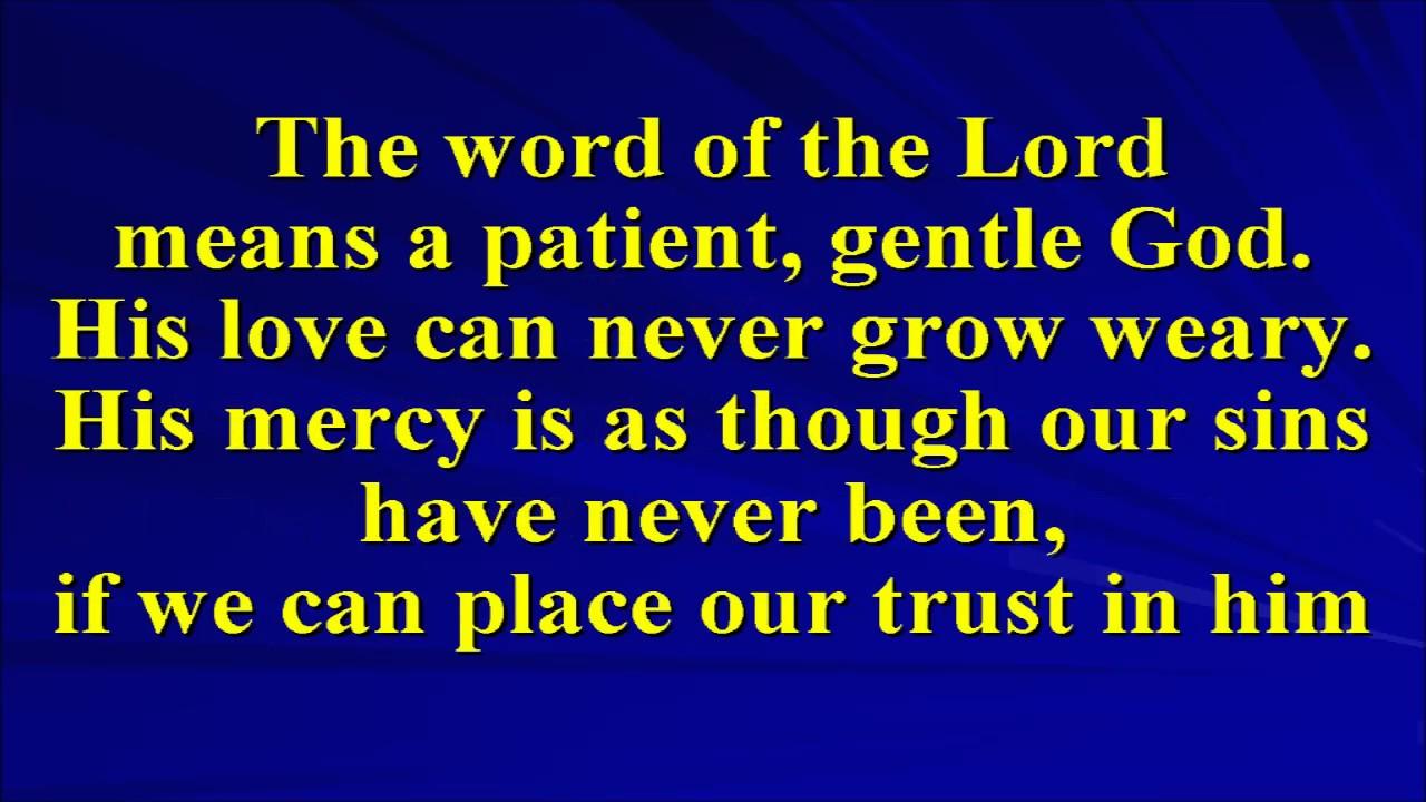 A trusting psalm youtube a trusting psalm stopboris Gallery