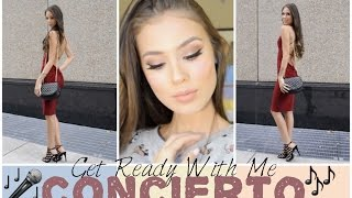GET READY WITH ME - CONCIERTO MARC ANTHONY Y CARLOS VIVES | LovePotion Makeup