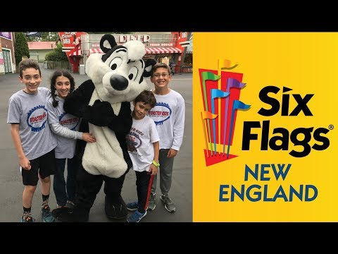 Six Flags New England (East Coaster Trip Day #5)