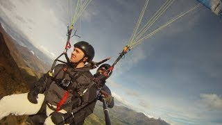 GoPro: Paragliding Coronet Peak, New Zealand with Sky Trek (CHILLED MUSIC)