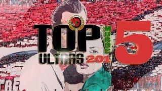 TOP 5 ULTRAS MAROC 2015