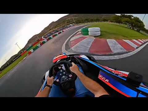 Tanda libre en el karting MarlonKart grabado en  360º