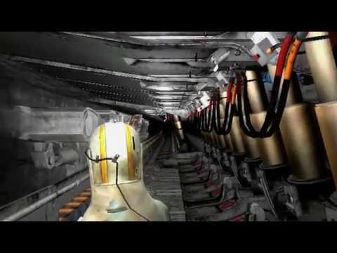 QinetiQ Virtual Reality Mining Capability Examples