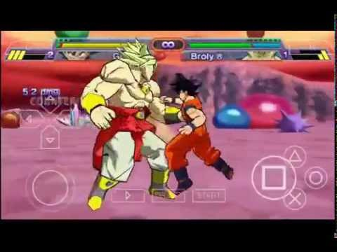 Goku Vs. Brolly - DBZ Shin Budokai 1 Android Gameplay (PPSSPP ...