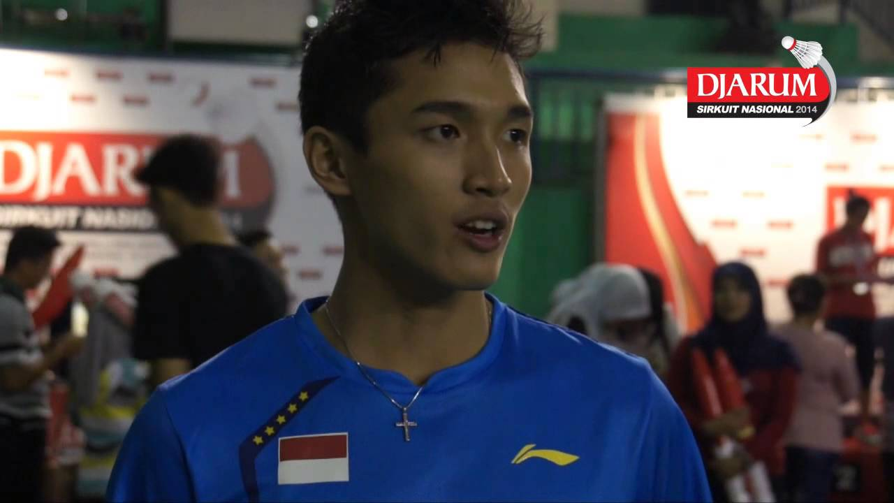 Interview Juara Tunggal Dewasa Putra Jonatan Christie