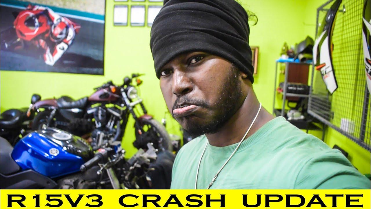 R15V3 Crash Update💔 And Repair @SK Motorcyclist 😉