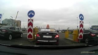 видео такси встреча на вокзале с табличкой в  Санкт-Петербурге