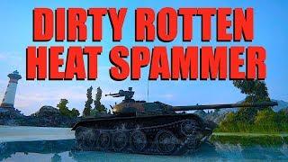 WOT - Dirty Rotten Heat Spammer T-54 | World of Tanks