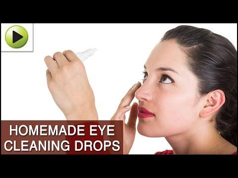 DIY Eye Cleaning Drops