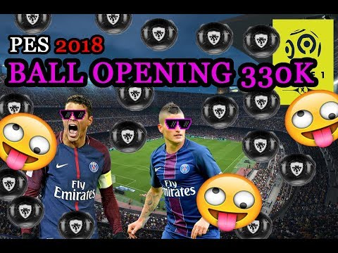 PES 2018 / BALL OPENING LEAGUE 1 CONFORAMA STARS 330k