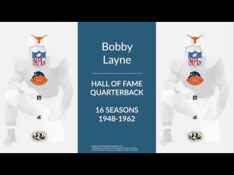 Bobby Layne: Hall of Fame Football Quarterback and Placekicker