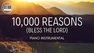 10,000 REASONS (BLESS TΗE LORD) | PIANO INSTRUMENTAL WITH LYRICS BY ANDREW POIL | PIANO COVER