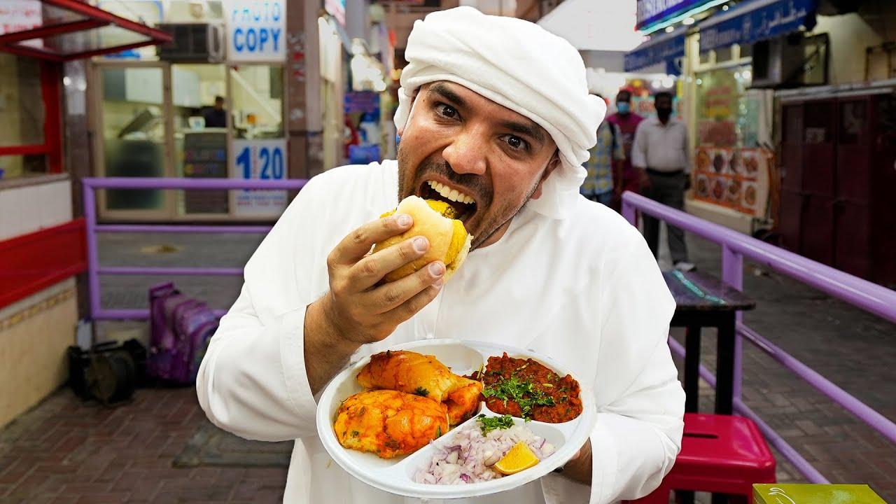 Dubai's Cheapest Sandwich?! (The Indian Vada Pav)