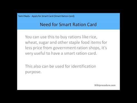 Kuniyamuthur - Apply for Ration Card