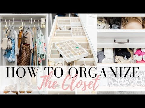 CLOSET ORGANIZATION TIPS - How To Organize The Closet | LuxMommy