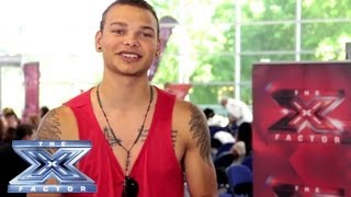 Yes, I Made It! Kane Brown - THE X FACTOR USA 2013 thumbnail