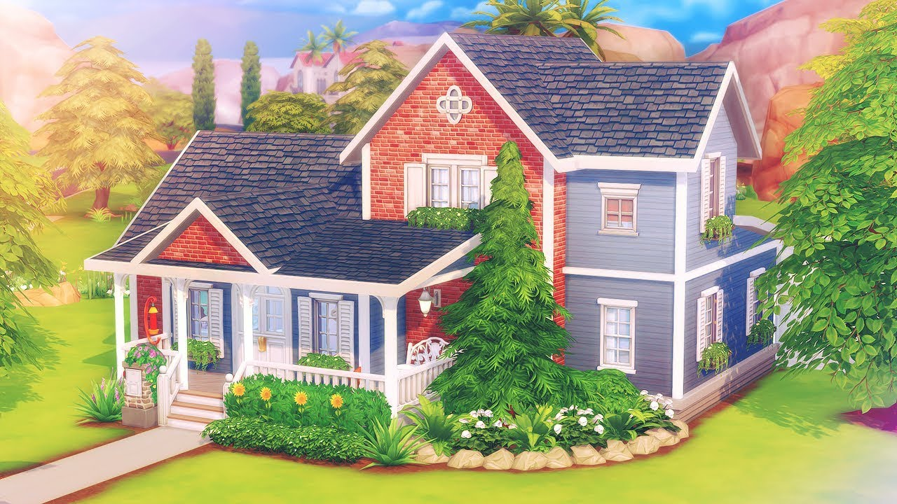 Rose House Not So Berry The Sims 4 Speed Build Youtube