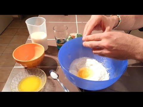 Recette de la pâte à crêpes facile et rapide