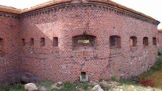 Балтийская Коса достопримечательности. Форт Западный 1869 года.(Композиция