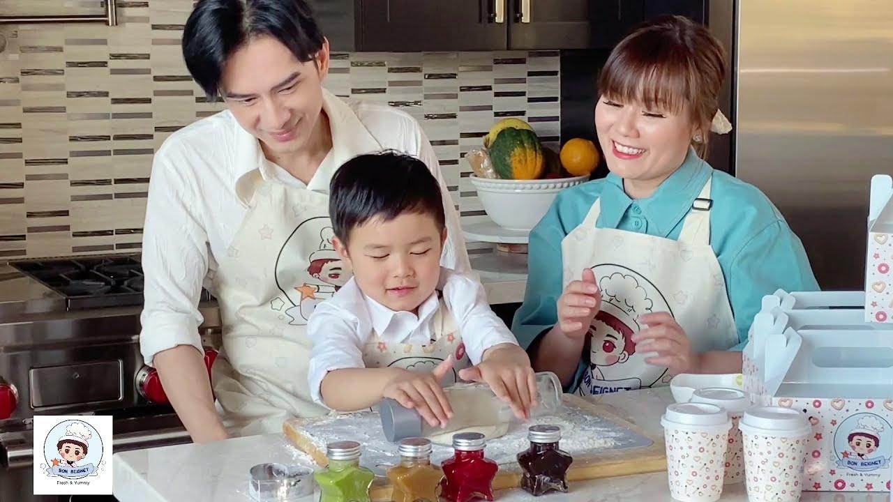 Gia đình ĐAN TRƯỜNG giới thiệu thương hiệu BON BEIGNET - Tiệm bánh dành tặng cho cậu con trai MATHIS