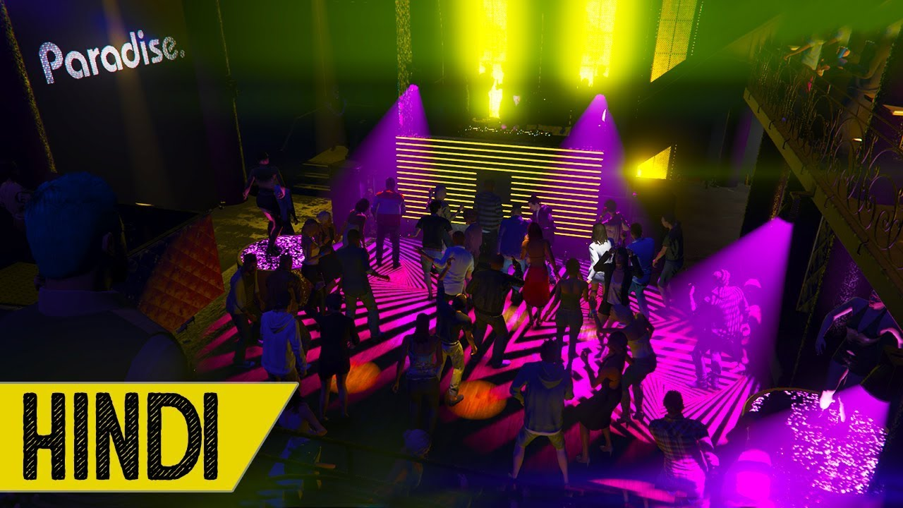 After Hours NightClub Party in GTA 5 - HINDI/URDU