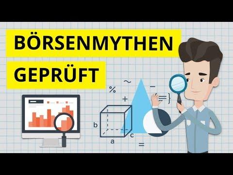 Sollte man sein Geld wirklich so investieren? 5 Börsen Mythen auf dem Prüfstand!