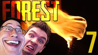 REAL TALK TOO HOT | The Forest COOP w/ JackSepticEye - Part 7
