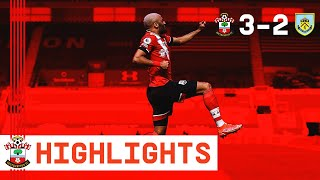 90-SECOND HIGHLIGHTS: Southampton 3-2 Burnley | Premier League