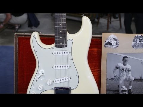 1962 Left-Handed Olympic White Fender Stratocaster | The Boomer Years Preview