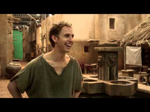 Behind the scenes on Atlantis with Jack Donnelly, Robert Emms, Aiysha Heart and Mark Addy