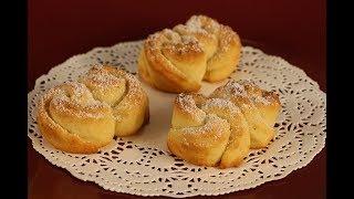 """Печенье """"Творожные розочки"""" - красивое, с  мягким нежным вкусом!"""
